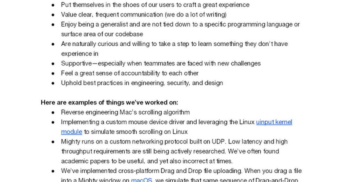 Mighty (Faster Chrome Streamed from the Cloud) Is Hiring Engineers