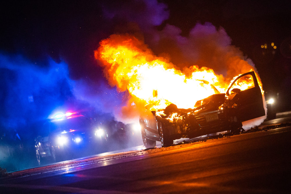 First Responders Unprepared for Electric Vehicle Fires: Report