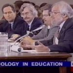 David Shaw vs. Seymour Papert Debate (1995) [video]