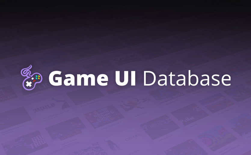 The Game UI Database, a comprehensive reference of game interface design