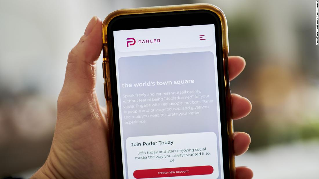 Apple Removes Parler from App Store