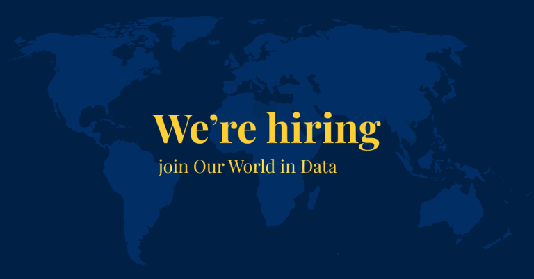 Our World in Data (YC W19) Is Hiring a Full-Stack Dev and a Technical Team Lead